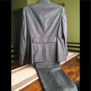 dressbarn Jackets & Coats - Dress barn gray pant suit